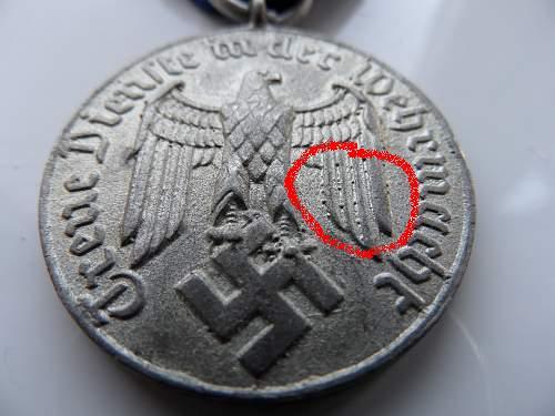 Heer 4 year LS medaille