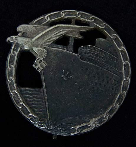 Kreigsmarine badges