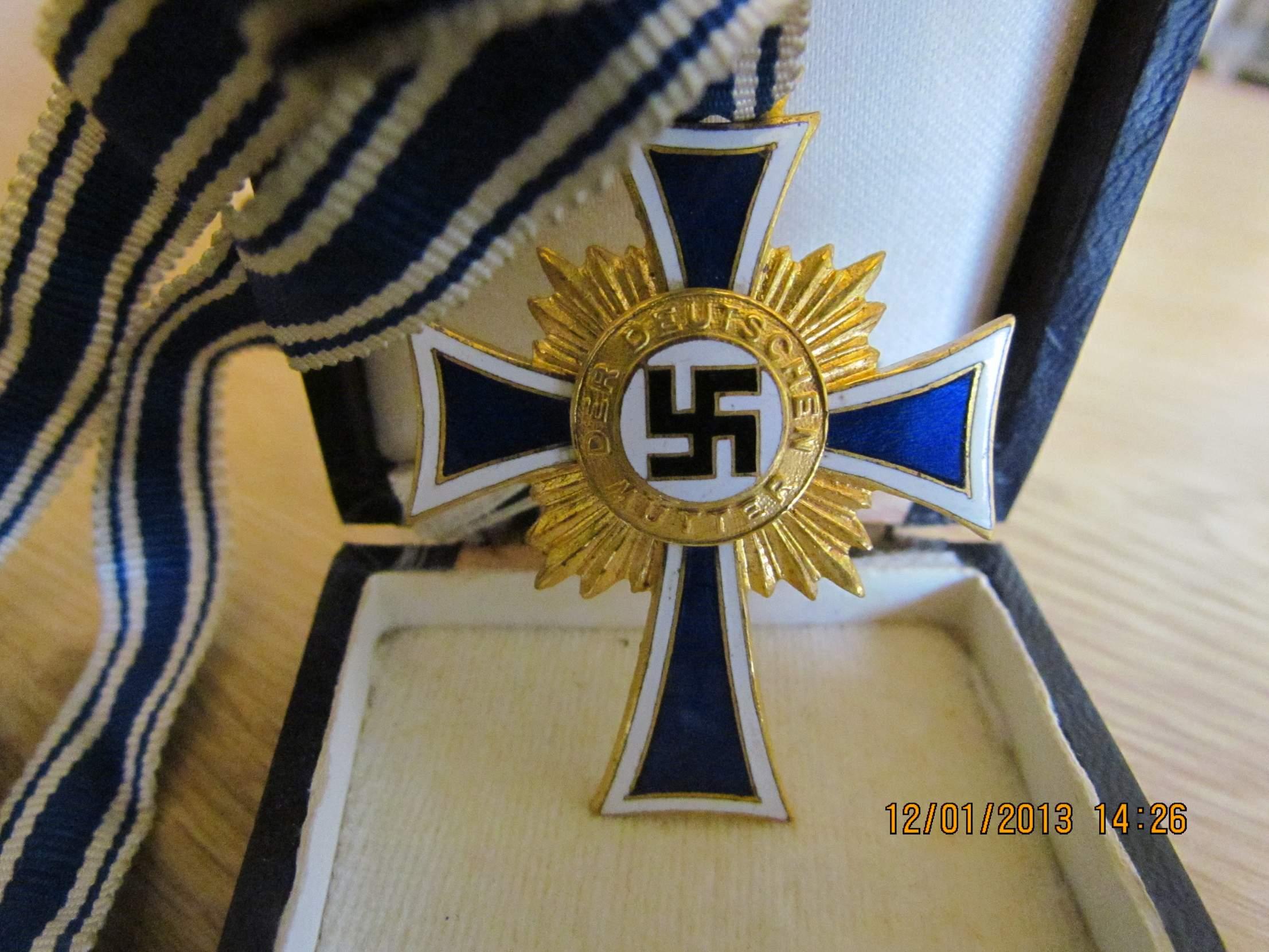 Mutter Kreuz Gold Silber Und Bronze