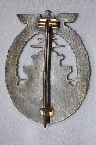 Flotten-Kriegsabzeichen. The Fleet War Badge. Opinions?