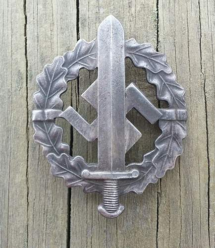 SA Sportabzeichen in Silber