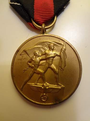 REAL OR FAKE? Medaille zur Erinnerung an den 1. Oktober 1938?