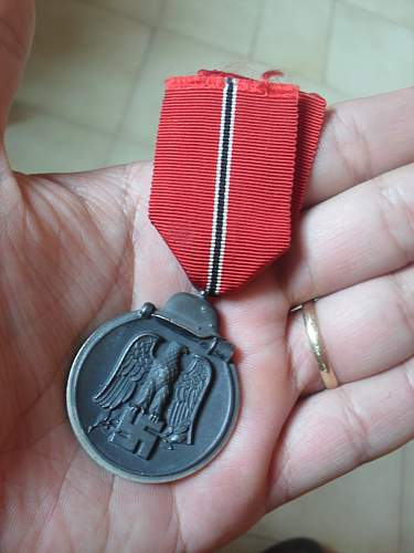 This is my Ostmedaille.