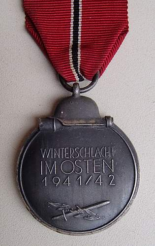 Opinion on this Ostmedaille.