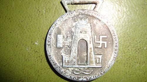Medaille fur den Italienisch-Deutschen Feldzug in Afrika, what do you think?