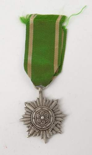 WW2 WWII OSTVOLK 2 Class with Swords Medal  Opinions Please