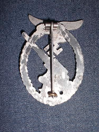 Luftwaffe Flak kampfabzeichen Badge