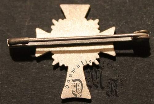 Special mutterkreuz spange