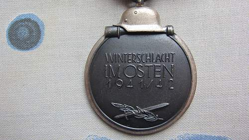 Ostmedaille marked 110