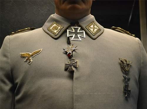 Hermann Goering's surviving decorations.