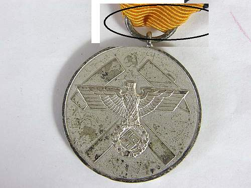 German ww2 Mine rescue medal