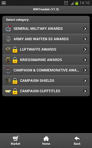 Android appi ww2 german medals :)