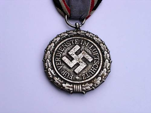 Luftschutz Medal - Opinions Please