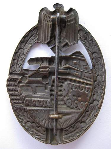 Hollow Stamped Assault Badges.
