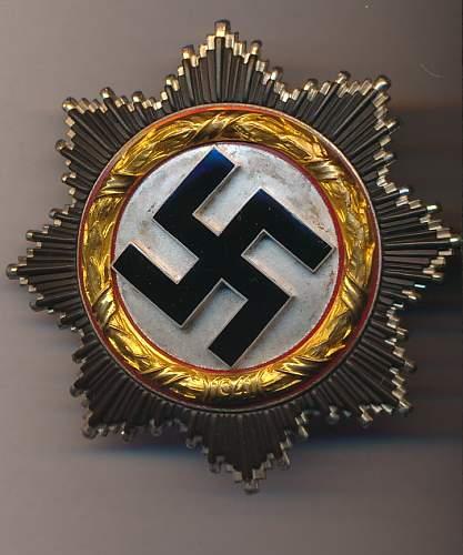 Deutsches Kreuz in Gold - 20