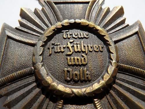 NSDAP 10 Year medaille