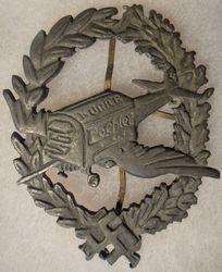 """Luftwaffe """"Kuhrier Poehler'' Badge"""