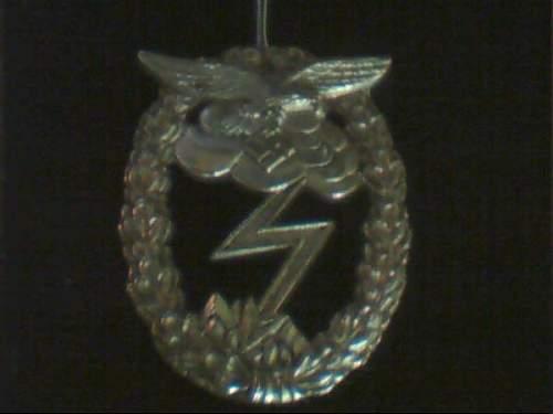 Luft Badge Ground Combat Badge?