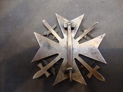 Spanien Kreuz in Silber opinions?