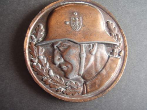 I found a unknown medal ,what is it??