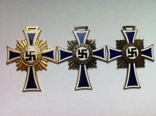 Mutterkreuz Original?