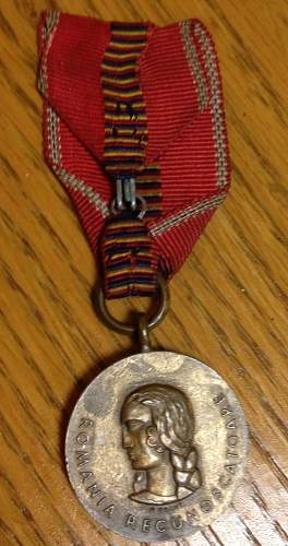 Romanian Anti-Communism Medal for Review!