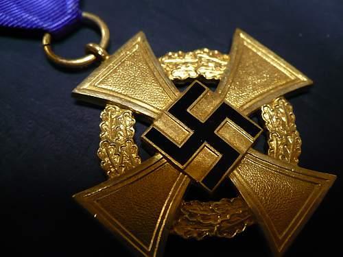 Original Treue Dienst Ehrenzeichen, 40 Jahre?