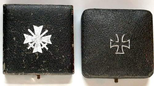 Cased I.C. & W.S.C. mm-L15.