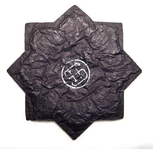 Cloth Deutsches Kreuz in Gold  - Hermann Schmuck & Cie