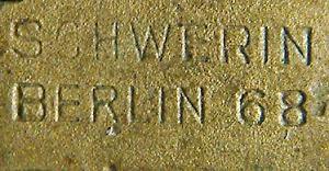 U-Boots Kriegsabzeichen Schwerin Berlin 68. Genuine or Fake?