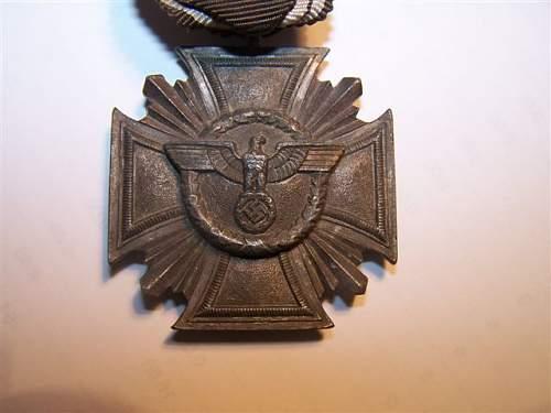 NSDAP Long service cross