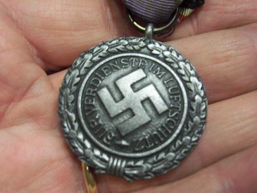LUFTSCHUTZ Medal, opinions please