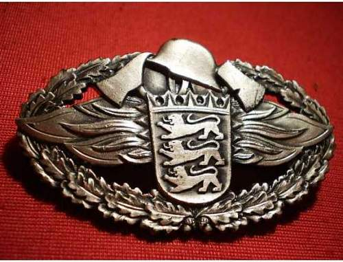 German Chest Pin