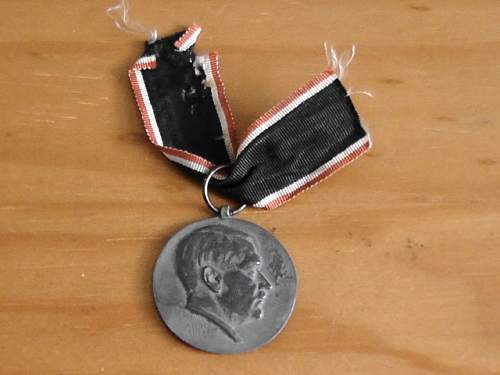 Beidigungs (oath) medal info needed