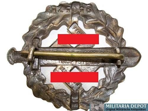 Ehrenkreuz der Deutsche Mutter Dritte Stufe, with mini and Envelope