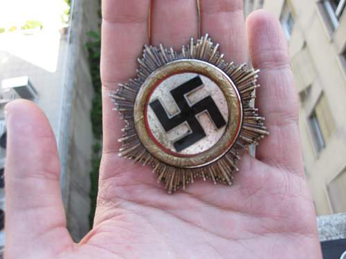 Deutsche Kreuz in gold real or fake?