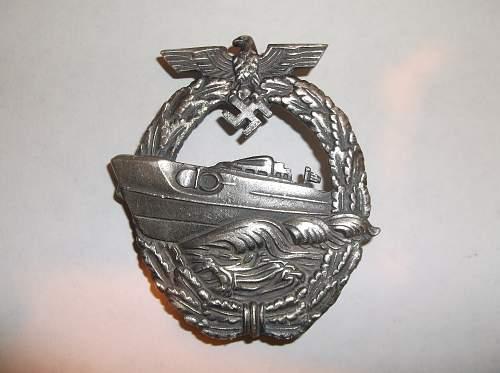 Kriegsmarine Badges - Reals or Fakes