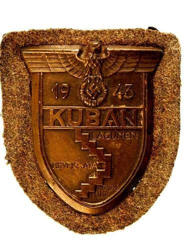 "Army "" KUBAN "" Campaign Shield."