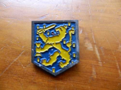 Unknown German Pin Possibly for 14th Waffen SS Division