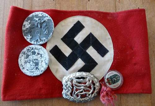 Help Please What Are These Luftwaffe & other Items?