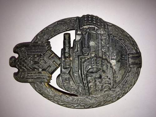 Are these hindenburg Medal and Tank Medal fakes?