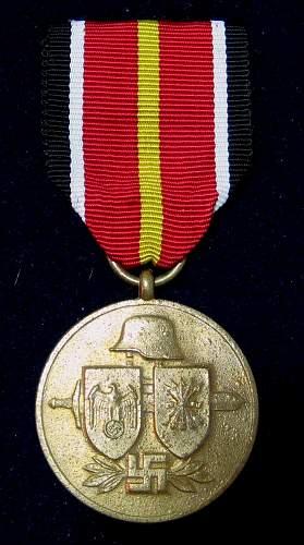 Anzul medaille orginal ?