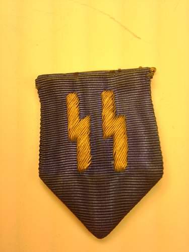 Real or Fake? SS 25-Year Long Service blue ribbon gold bullion SS