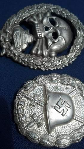 Condor Legion Wound & Tank Badge FAKE OR REAL??