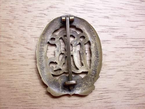 DRL Sportabzeichen in Bronze?