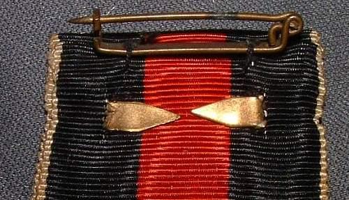 Medaille zur Erinnerung an den 1. Oktober 1938 mit Spange.