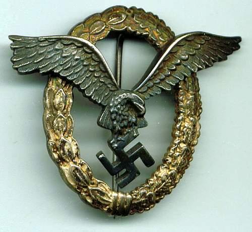 Click image for larger version.  Name:B&N L Pilot badge.jpg Views:85 Size:65.4 KB ID:572601