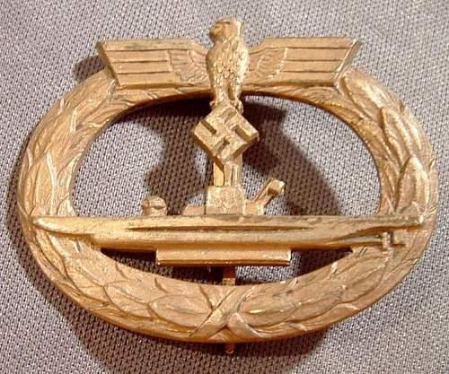 Bacqueville U Boat aubzeichen