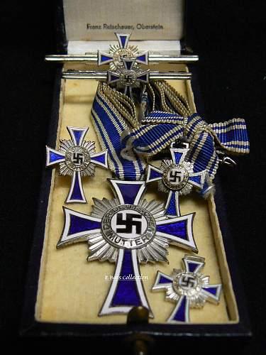 Ehrenkreuz der Deutsche Mutter Zweite Stufe