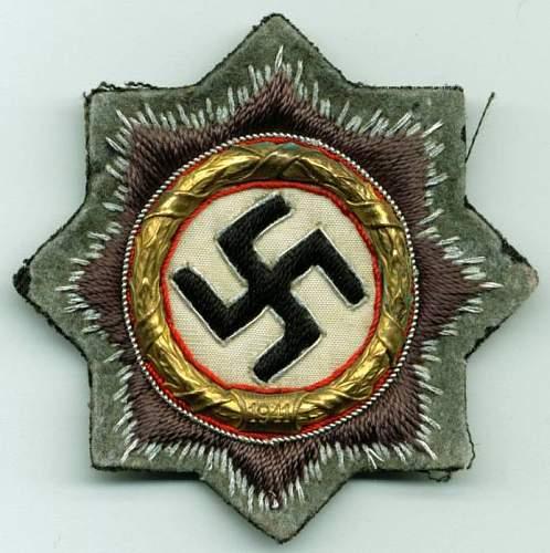 The cloth DKiG of Major Mugge.